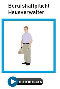Vermögensschadenhaftpflichtversicherung Hausverwalter