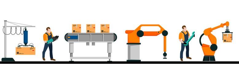 Montage an Maschinen
