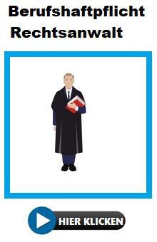 Berufshaftpflicht Rechtsanwälte