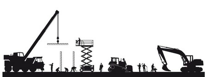 Werkverkehr Baustelle